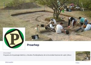 ProArHEP en Facebook